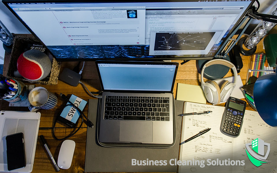 Improve access to your workspace by reducing clutter