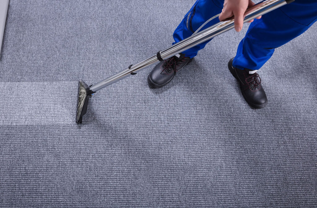 Professional carpet cleaning through hot water extraction is important for maintaining clean and safe carpets.