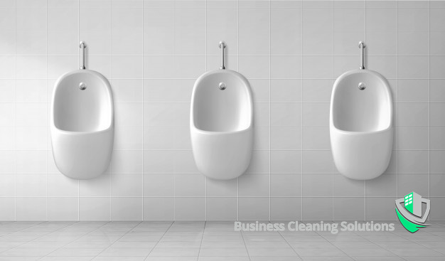 Clean urinals make for a user-friendly commercial restroom